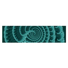Fractals Form Pattern Abstract Satin Scarf (oblong)