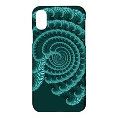 Fractals Form Pattern Abstract Apple Iphone X Hardshell Case