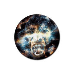 Universe Vampire Star Outer Space Rubber Round Coaster (4 Pack)