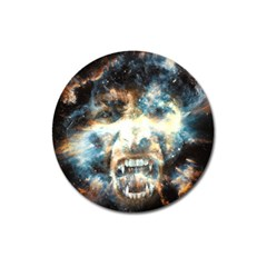 Universe Vampire Star Outer Space Magnet 3  (round)