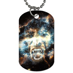 Universe Vampire Star Outer Space Dog Tag (one Side)
