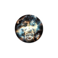 Universe Vampire Star Outer Space Golf Ball Marker