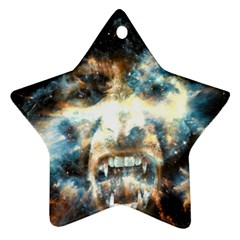 Universe Vampire Star Outer Space Star Ornament (two Sides)