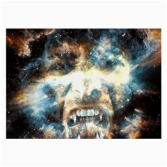 Universe Vampire Star Outer Space Large Glasses Cloth