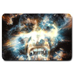 Universe Vampire Star Outer Space Large Doormat