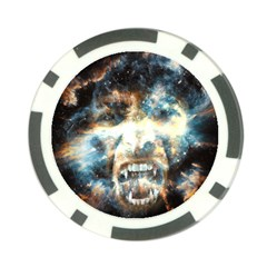 Universe Vampire Star Outer Space Poker Chip Card Guard