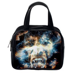 Universe Vampire Star Outer Space Classic Handbags (one Side)