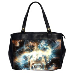 Universe Vampire Star Outer Space Office Handbags (2 Sides)