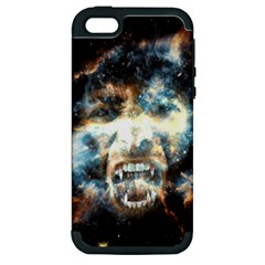 Universe Vampire Star Outer Space Apple Iphone 5 Hardshell Case (pc+silicone)