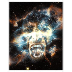 Universe Vampire Star Outer Space Drawstring Bag (small)