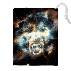 Universe Vampire Star Outer Space Drawstring Pouches (xxl)