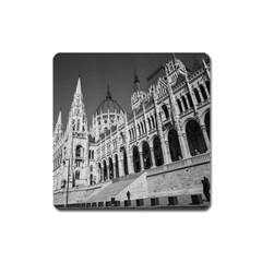 Architecture Parliament Landmark Square Magnet