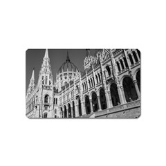 Architecture Parliament Landmark Magnet (name Card)