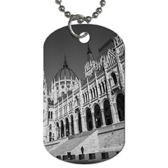Architecture Parliament Landmark Dog Tag (two Sides)