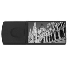 Architecture Parliament Landmark Rectangular Usb Flash Drive