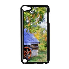 Landscape Blue Shed Scenery Wood Apple Ipod Touch 5 Case (black)