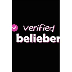 Verified Belieber 5 5  X 8 5  Notebooks