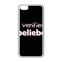 Verified Belieber Apple Iphone 5c Seamless Case (white)