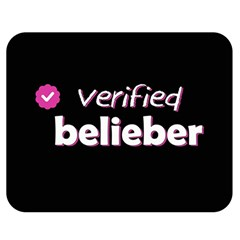 Verified Belieber Double Sided Flano Blanket (medium)