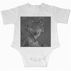Wolf Forest Animals Infant Creepers