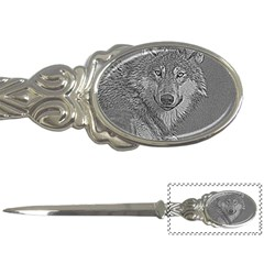 Wolf Forest Animals Letter Openers