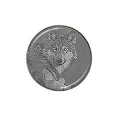 Wolf Forest Animals Hat Clip Ball Marker (4 Pack)