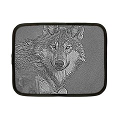 Wolf Forest Animals Netbook Case (small)