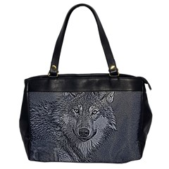 Wolf Forest Animals Office Handbags