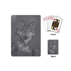 Wolf Forest Animals Playing Cards (mini)