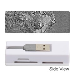 Wolf Forest Animals Memory Card Reader (stick)