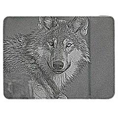 Wolf Forest Animals Samsung Galaxy Tab 7  P1000 Flip Case