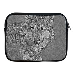 Wolf Forest Animals Apple Ipad 2/3/4 Zipper Cases