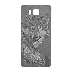 Wolf Forest Animals Samsung Galaxy Alpha Hardshell Back Case
