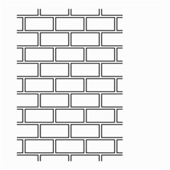 Wall Pattern Rectangle Brick Small Garden Flag (two Sides)