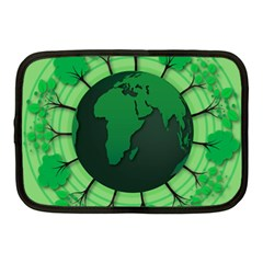 Earth Forest Forestry Lush Green Netbook Case (medium)
