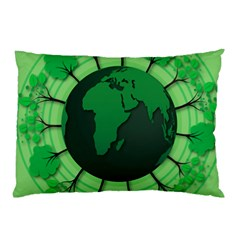 Earth Forest Forestry Lush Green Pillow Case