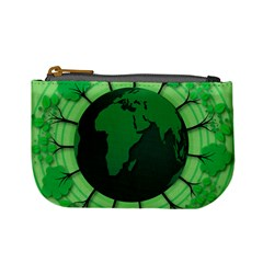 Earth Forest Forestry Lush Green Mini Coin Purses