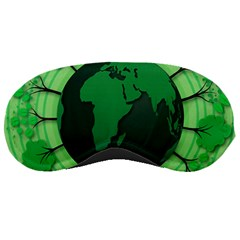 Earth Forest Forestry Lush Green Sleeping Masks