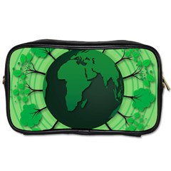 Earth Forest Forestry Lush Green Toiletries Bags