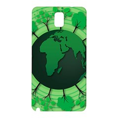 Earth Forest Forestry Lush Green Samsung Galaxy Note 3 N9005 Hardshell Back Case