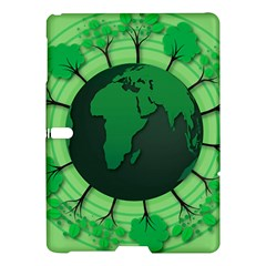 Earth Forest Forestry Lush Green Samsung Galaxy Tab S (10 5 ) Hardshell Case