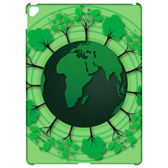 Earth Forest Forestry Lush Green Apple Ipad Pro 12 9   Hardshell Case