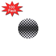 Triangle Pattern Background 1  Mini Buttons (100 Pack)
