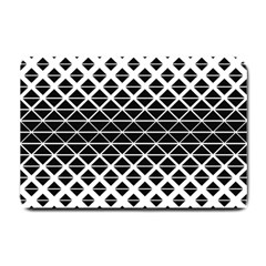 Triangle Pattern Background Small Doormat