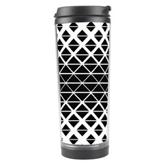 Triangle Pattern Background Travel Tumbler