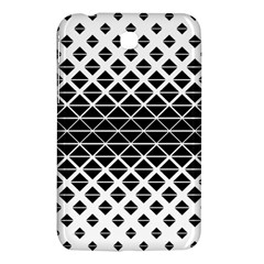 Triangle Pattern Background Samsung Galaxy Tab 3 (7 ) P3200 Hardshell Case
