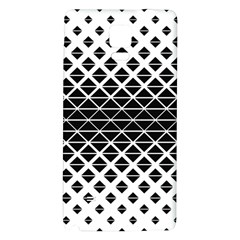 Triangle Pattern Background Galaxy Note 4 Back Case