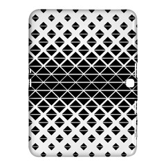 Triangle Pattern Background Samsung Galaxy Tab 4 (10 1 ) Hardshell Case