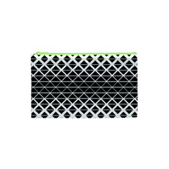 Triangle Pattern Background Cosmetic Bag (xs)