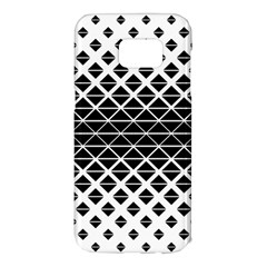 Triangle Pattern Background Samsung Galaxy S7 Edge Hardshell Case
